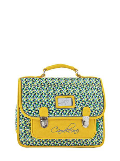 Satchel 1 Compartment Cameleon Yellow retro RET-CA32