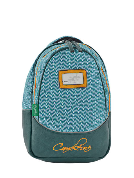 Backpack For Kids 2 Compartments Cameleon Black retro RET-PRI