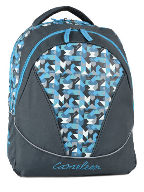 Backpack 2 Compartments Cameleon Blue new basic NBA-BOR