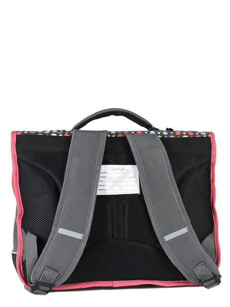Satchel 2 Compartments Cameleon Pink new basic NBA-CA38 other view 4