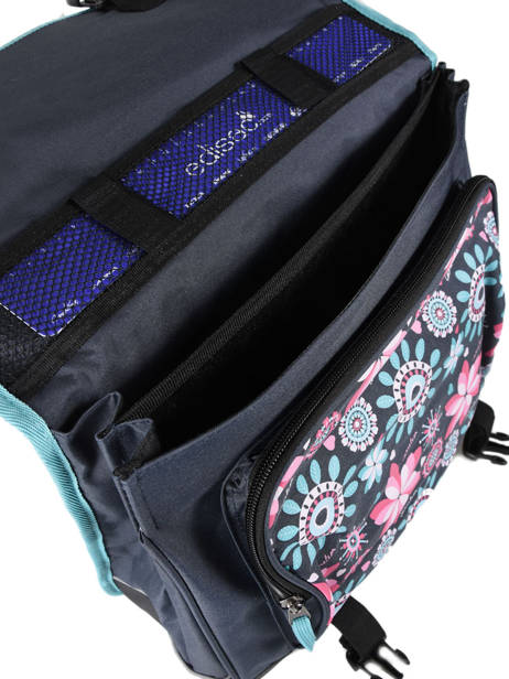 Satchel 2 Compartments Cameleon Pink new basic NBA-CA38 other view 5