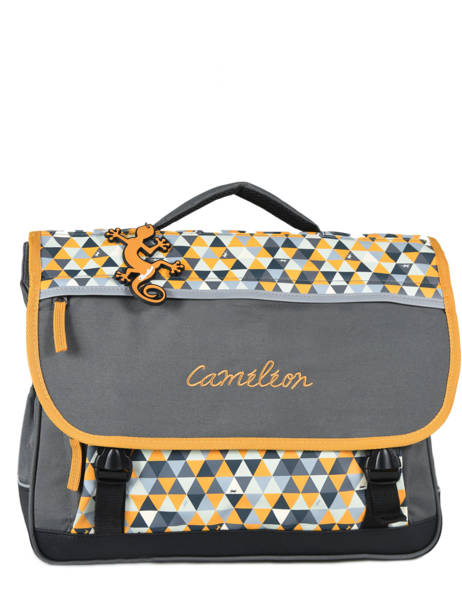 Satchel For Kids 3 Compartments Cameleon Yellow new basic NBA-CA41