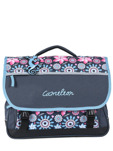 Satchel 3 Compartments Cameleon Pink new basic NBA-CA41