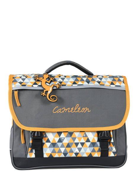 Satchel 2 Compartments Cameleon Yellow new basic NBA-CA38