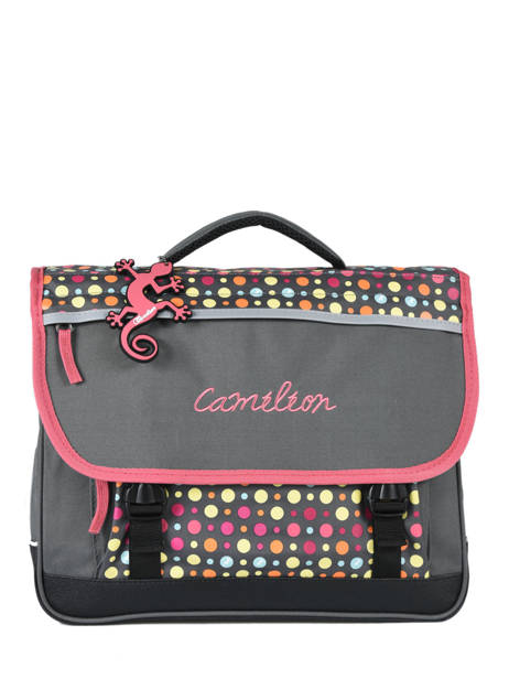 Satchel 2 Compartments Cameleon Pink new basic NBA-CA38