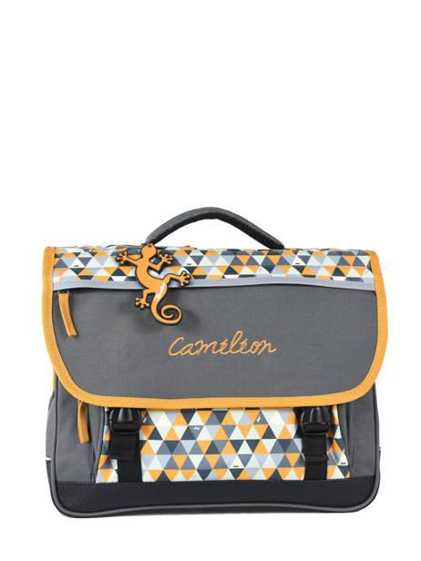Cartable 2 Compartiments Cameleon Jaune new basic NBA-CA35