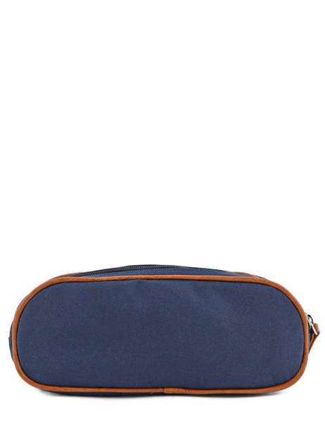 Trousse Garçon 2 Compartiments Cameleon Bleu vintage print boy VIB-TROU vue secondaire 2