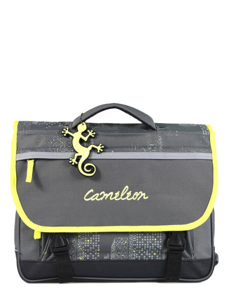 Satchel 2 Compartments Cameleon Gray basic BAS-CA38