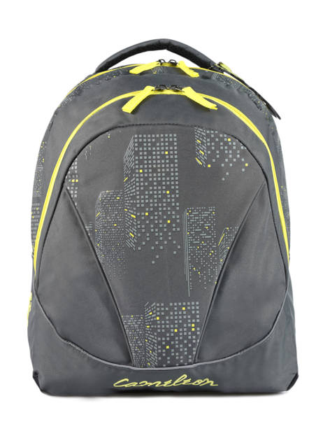Backpack 2 Compartments Cameleon Gray basic BAS-SD43