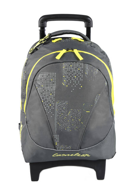 Wheeled Backpack 2 Compartments Cameleon Gray basic BAS-SR43
