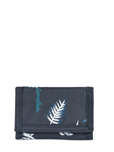 Portemonnee Basic Velcro Cameleon Blauw basic BAS-WALL