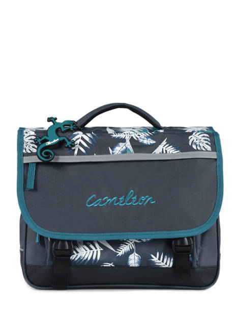 Satchel 2 Compartments Cameleon Blue basic BAS-CA35