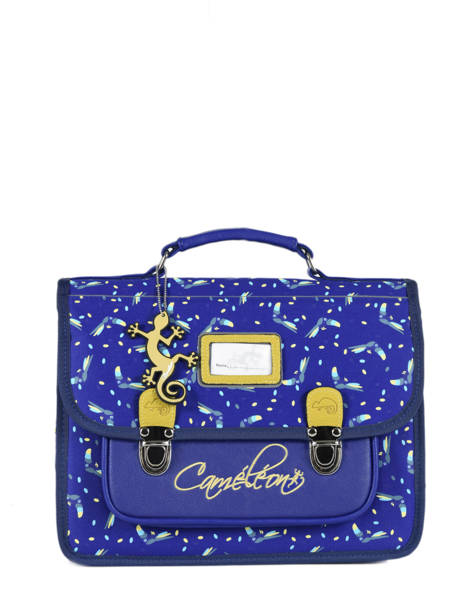 Satchel 1 Compartment Cameleon Blue retro RET-CA32