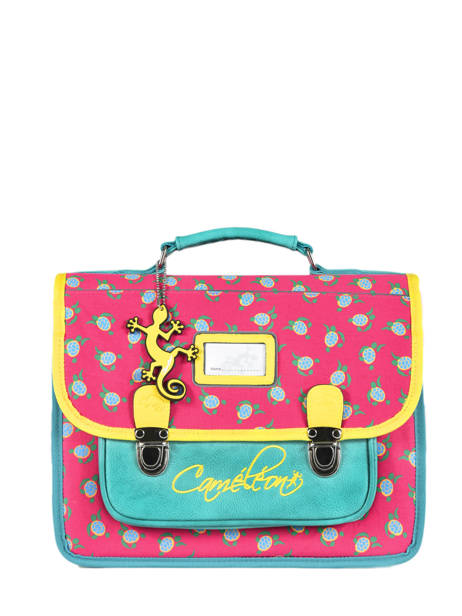 Satchel 1 Compartment Cameleon Pink retro RET-CA32