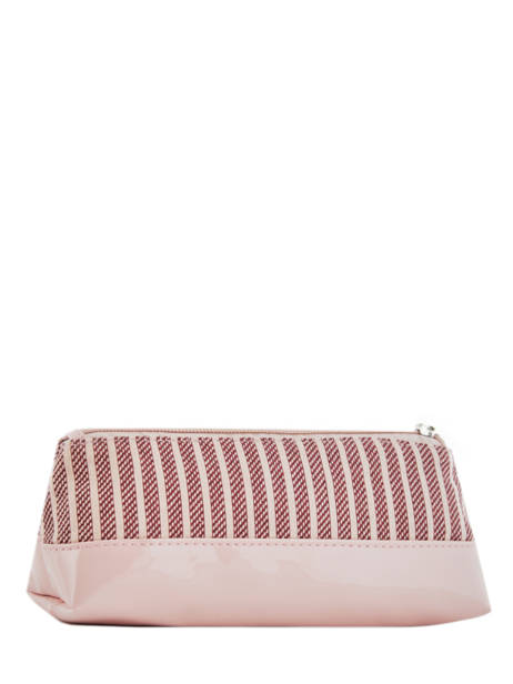 Pencil Case For Kids 1 Compartment Cameleon Pink retro vinyl REV-TROU other view 2
