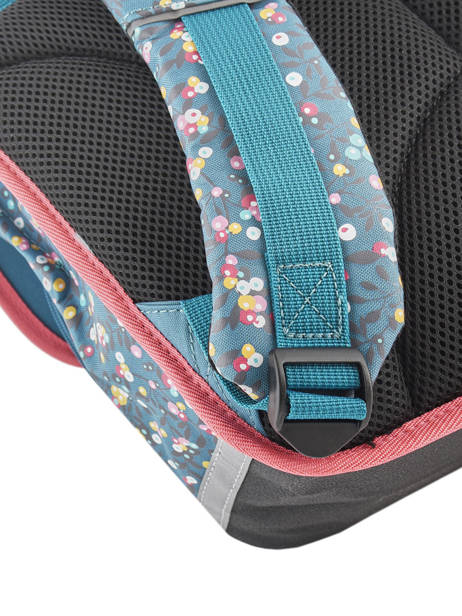 Satchel For Girl 2 Compartments Cameleon Blue vintage fantasy CA38 other view 5