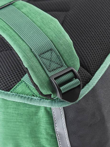 Cartable Enfant 2 Compartiments Cameleon Vert vintage chine VIN-CA35 vue secondaire 2