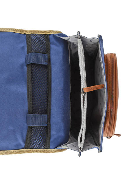 Backpack For Boys 2 Compartments Cameleon Multicolor vintage urban VIB-SD38 other view 6