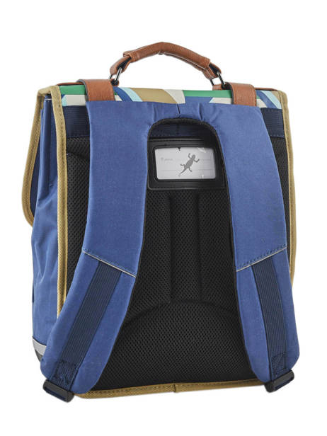 Backpack For Boys 2 Compartments Cameleon Multicolor vintage urban VIB-SD38 other view 5
