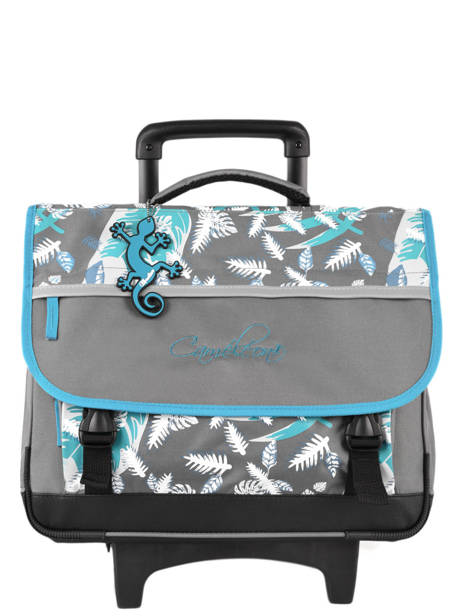 Wheeled Schoolbag For Kids 3 Compartments Cameleon Gray basic BAS-CR41