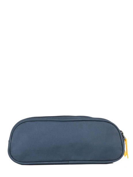 Pencil Case For Kids 2 Compartments Cameleon Blue actual TROU other view 2