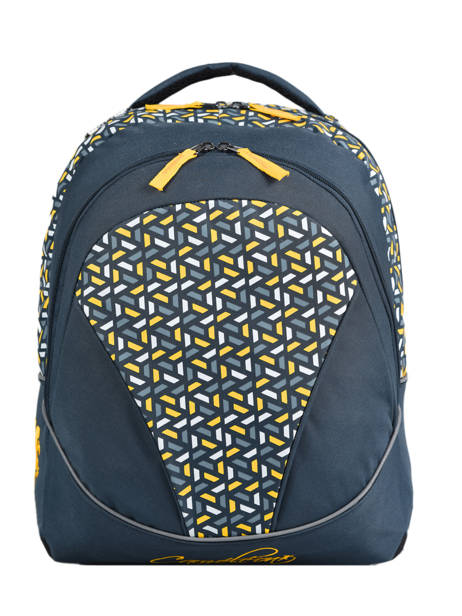 Backpack For Kids 2 Compartments Cameleon Blue actual BAS-SD43
