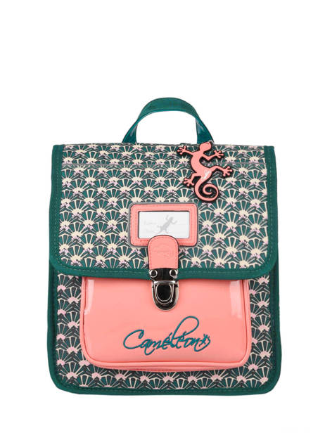 Backpack 1 Compartment Cameleon Green retro SD30