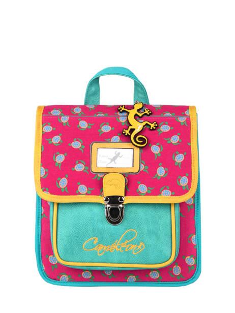 Backpack Cameleon Green retro RET-SD30