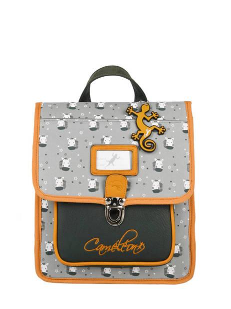 Backpack Cameleon Gray retro RET-SD30