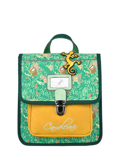 Backpack Cameleon Green retro RET-SD30