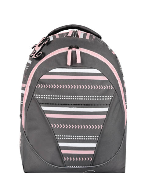 Backpack For Kids 2 Compartments Cameleon Gray basic BAS-SD43