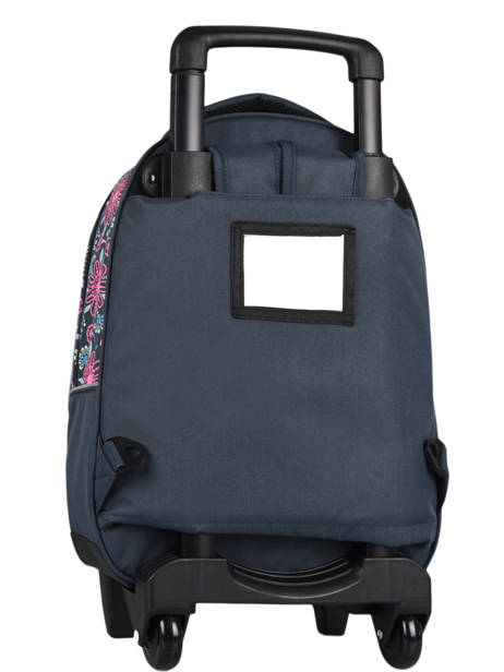 Wheeled Backpack For Kids 2 Compartments Cameleon Blue basic SR43 other view 5