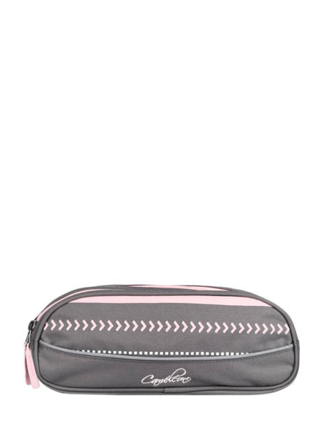 Pencil Case For Kids 2 Compartments Cameleon Gray basic TROU