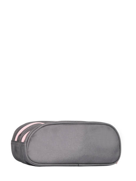 Pencil Case For Kids 2 Compartments Cameleon Gray basic TROU other view 2