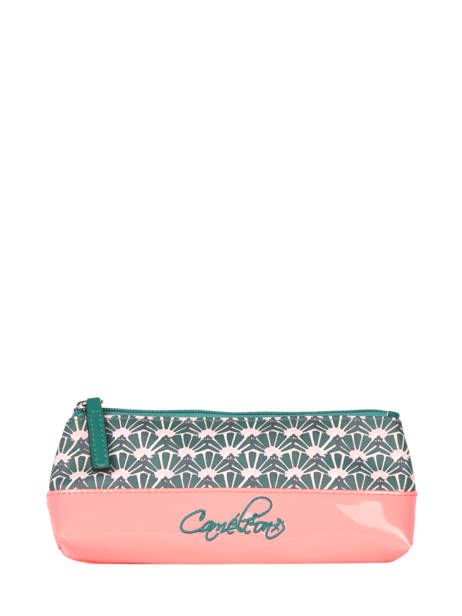 Pencil Case For Kids 1 Compartment Cameleon Green retro RET-TROU