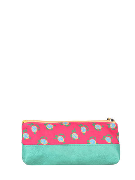 Pencil Case For Kids 1 Compartment Cameleon Pink retro RET-TROU other view 2
