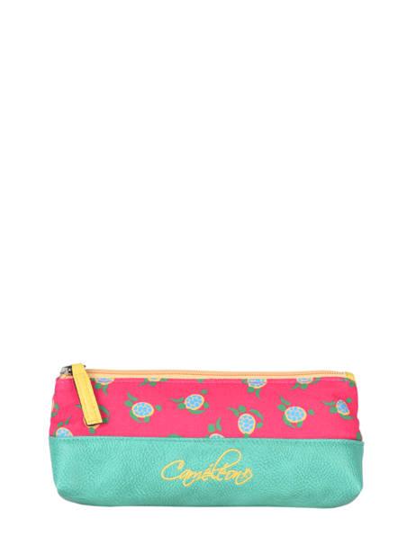 Pencil Case For Kids 1 Compartment Cameleon Pink retro RET-TROU