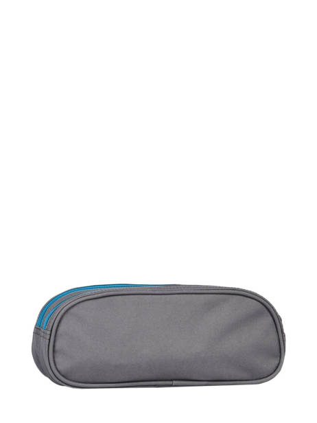 Pencil Case For Kids 2 Compartments Cameleon Gray basic TROU other view 1