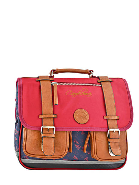 Satchel 2 Compartments Cameleon Blue vintage urban PBVBCA35