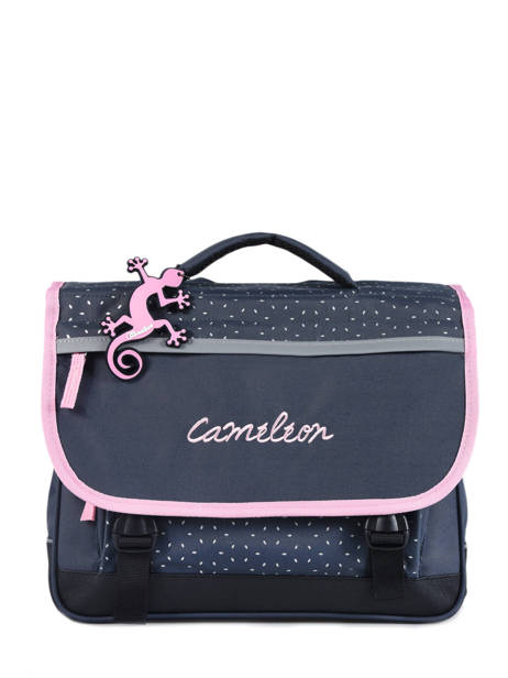Satchel 2 Compartments Cameleon Blue actual PBBACA35