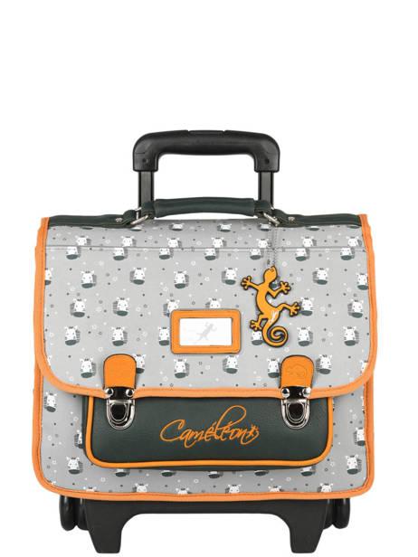 Wheeled Backpack Rétro Cameleon Gray retro CR35