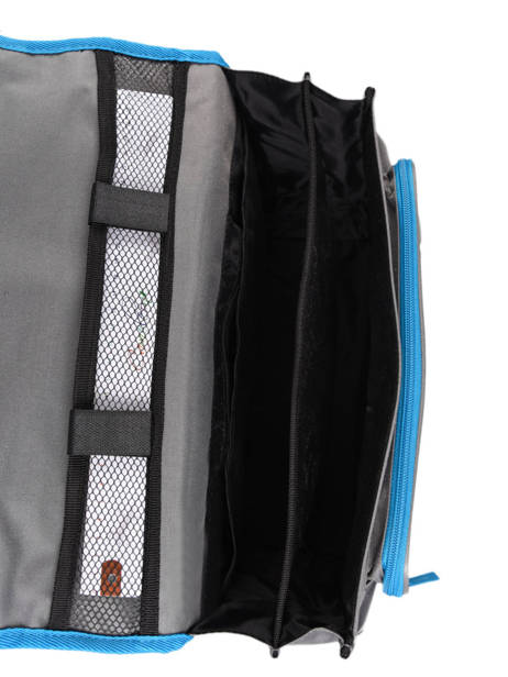 Satchel For Kids 2 Compartments Cameleon Gray basic BAS-CA38 other view 6