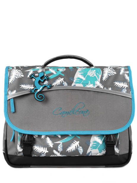 Satchel For Kids 3 Compartments Cameleon Gray actual BAS-CA41