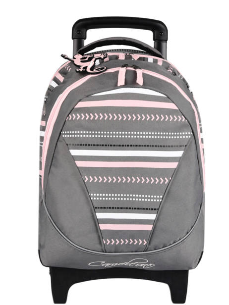 Wheeled Backpack For Kids 2 Compartments Cameleon Gray basic SR43