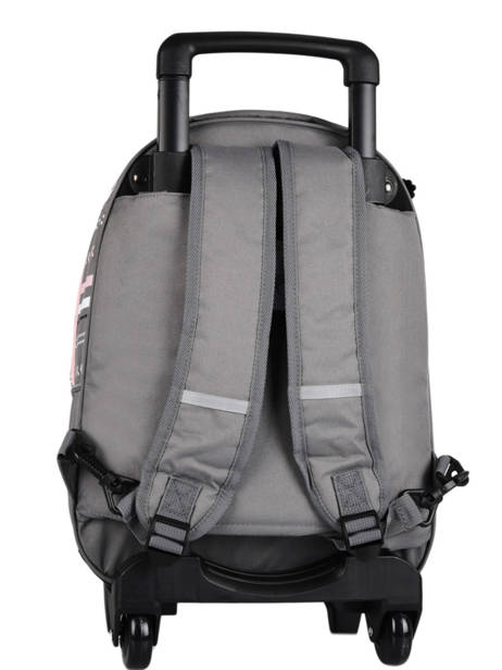 Wheeled Backpack For Kids 2 Compartments Cameleon Gray basic SR43 other view 4