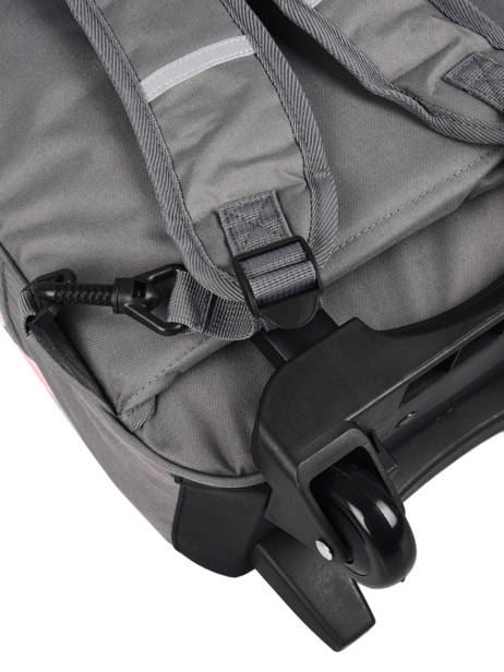 Wheeled Backpack For Kids 2 Compartments Cameleon Gray basic SR43 other view 1