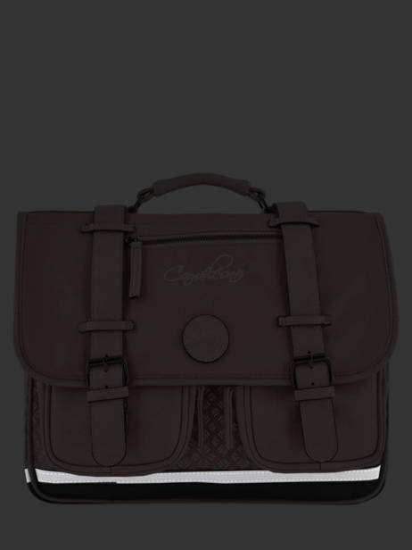 Wheeled Schoolbag For Girls 2 Compartments Cameleon Pink vintage fantasy PBVGCA35 other view 6