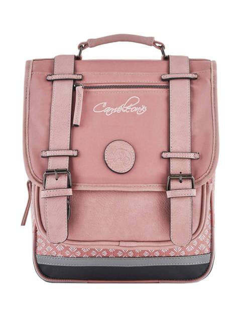Backpack 2 Compartments Cameleon Pink vintage fantasy PBVGSD38