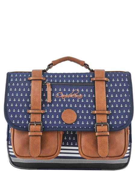 Satchel 2 Compartments Cameleon Blue vintage urban PBVBCA38