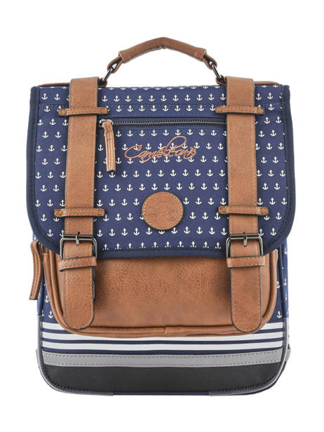 Sac A Dos 2 Compartiments Cameleon Blue vintage urban PBVBSD38